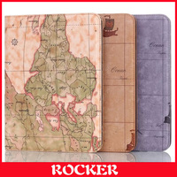 New Fashion World Map Case Cover For Samsung Galaxy Tab 4 10.1 inch T530 T531 T535 With Stand Function(Multi color)