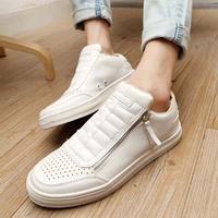 size39-44 Men's Sneakers. black,white shoes. Korean man flats.  Casual Shoes.Man's Flat Shoes mc1070