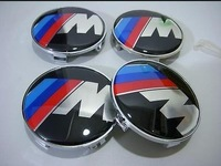 4pcs resin 68mm  M power wheel center caps hub car tire badge logo emblem E39 E87 Z3 Z4 E36 ///M