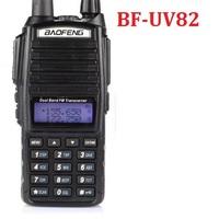 BF-UV82 dual band walkie talkie 136-174MHz&400-520MHz Two Way Radio  Dual display dual watch FM Transceiver