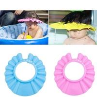 1PCS 2014 Hot Adjustable Baby Kids Children Shower Bath Cap Shampoo Waterproof Hat Sun Visor Free Shipping