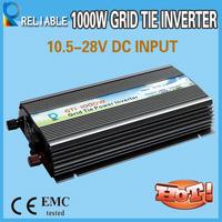 2014 NEW 1000W Solar Grid Tie Inverter 10.8V-28V DC Input 110V 230V AC Output,Grid Tie Inverter