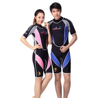 3 mm neoprene short sleev professional insulation wetsuit Winter summer diving suit  Snorkeling diving suit for men and women