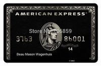 100% Real capacity Amercian Express card usb drive  +Free 2 Side Customer Logo + Card USB Flash memory thumb drive Free shipping
