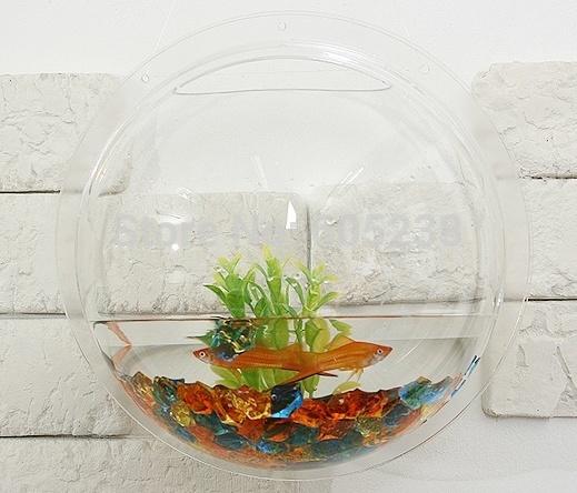 Acrylic wall hanging fish tank / Wall Aquarium / Wall Fish Bowls (26 ...