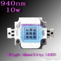 High Quality Epistar 10w 940nm led infrared ir emitter,DC4.0-5.0v,1050mA, life>50,000hrs, 32pcs/lot,DHL free shipping!