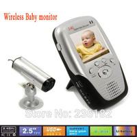 "2.5"" LCD 328 feet  wireless baby monitor camera/baby cry detector"