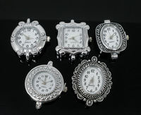 5 Mixed Quartz Watches Faces 29x24mm-33x26mm Findings (Over $100 Free Express)