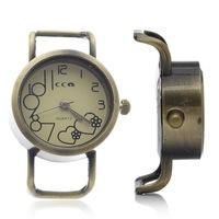 1PC Quartz Watch Face Bronze Tone Heart Arabic numerals 37mm x26mm x10.5mm (Over $100 Free Express)
