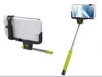 Handheld Extendible Stand Holder Remote Control Bluetooth Monopod for iPhone 4 4S 5 5C 5S Samsung free shipping