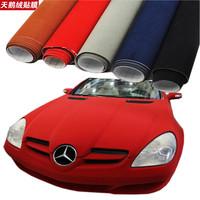 8 colors New Fashion 1.35*15M car interior sticker/Velvet fabric/ suede vinyl car wrap