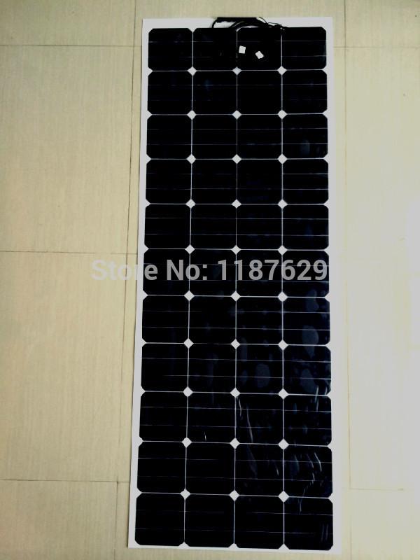 130W high efficiency flexible solar panel,Back contact Sunpower cell solar panel(China (Mainland))