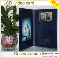 7 inch LCD usb digital video player greeting cards bulk from china