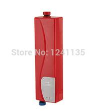 Vermelho e Branco Instantâneo Aquecedor de Água Elétrico ElectricHeater Aquecimento de Água Torneira Ducha de verão(China (Mainland))