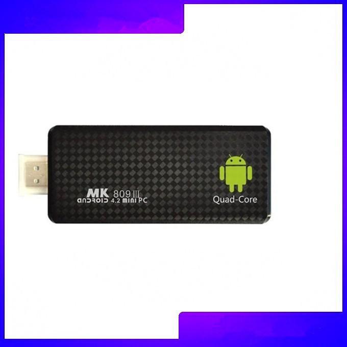 5pcs 2014 High Quality MK809 III Quad Core RK3188 Android TV Stick 2GB/8GB Bluetooth WIFI XBMC AirPlay Mk809 iii Mini PC Dongle(China (Mainland))