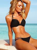 2012 new steel prop breast cleavage queen 's top foreign trade wholesale bikini swimsuit women C366