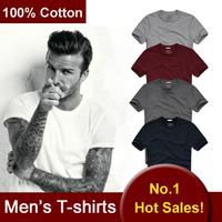 2014 100% Good Quality Men's Cotton Shirts Short Sleeve Summer T-shirts For Man  Tops Tees Brand Design Shirts AJ1812 JMS
