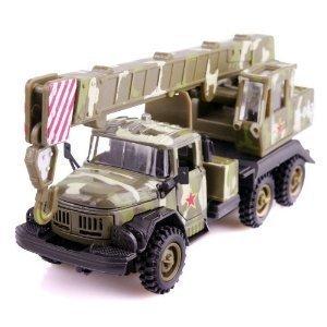 Russia kumar, military vehicles, trucks alloy models toys for children crane(China (Mainland))