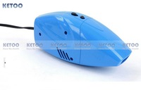 New Blue  12V  Mini Powerful Portable Auto Car Vacuum Cleaner Car Dust Collector Cleaning