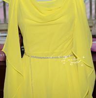 1 pcs Fashion 2 row  Rhinestone silver chain Belt Waistband for Ladies or wedding dressess
