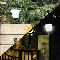 Garden Yard Goalpost solar lamp post caplights household column led lamp super bright  photoswitchable induction waterproof