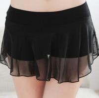 2014 new fashion women plus size elastic waist casual modal mesh shorts skirts free shipping