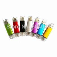 Free Shipping Mobile Phone Android USB Smart USB Flash Drive 8GB 16GB 32GB OTG USB Memory Stick  USB 2.0 Pen Drive CXCE1014