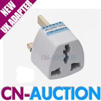FS! Universal Travel Adapter AU US EU to UK Adapter Converter 3 Pin AC Power Plug Adaptor Connector 2PCS/LOT (CN-PA01)