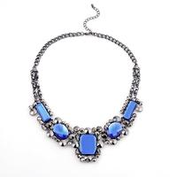 Wholesale Europe Style Romantic Glass Fashion Party Women Pendant Necklace (3 pieces/lot)