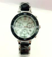 2014 New kors Gold Double row Rhinestone alloy resin Watches Luxury Brand Women Ladies dress watches clock Quartz WristWatches