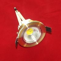 30X 10W dimmable COB led downlight round recessed smd lamp for bathroom kitchen 120V-240V