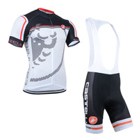 New Arrival Nice Quality  2014 Outdoor Sport Castelli Jersey(Maillot)/Bib Short(Culot))/Cycle Wear/Quick-dry clothing/Some Sizes