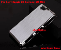 Hard Case Mobile Phone Case Back Cover Aluminum Hard Case For Sony Xperia Z1 Compact D5503 Z1 MINI