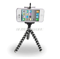 Hot Sale 2 in 1 Mini Flexible Octopus Tripod and Phone Stand Holder for Camera Mobile Phone Cellphone