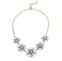 2014 New Female Trendy Romantic Fashion Love Flower Necklaces Pendants High Quality (5 pieces/lot)