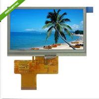 "5.0"" 800X480 Resolution TFT LCD Module Display with Touch Panel Screen"