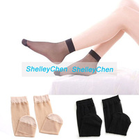 Women Cute Sexy Crystal Sock Ultra-Thin Filar Socks Transparent socks SOX Ladies Fiber Sheer Ankle High Trouser Pop Socks