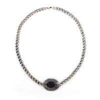 Retro New Europe Style Hot Sale Unisex Ellipse Vintage Color Necklaces Wholesale  (8 pieces/lot)