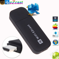 HD 1080P TV Stick EZcast WiFi Display Dongle Receiver Adapter Miracast DLNA AirPlay Support iOS/Mac OS/Android/Windows System