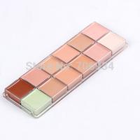 Concealer Palette Brand Makeup Contour Palette Professional Highlighter 1pcs 12 Concealer Camouflage Makeup Palatte Concealer