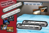 As seen on TV hot selling stick LED light 2 pack light per set free shipping to europe