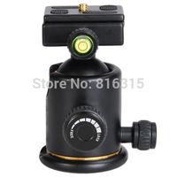 Quick Release Plate Tripod Head 12KG Swivel Camera Tripod BallHead w/ Quick Release Plate Photo Video Studio