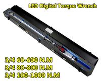 LED Digital Torque Wrench 3/4 60-600NM,3/4 80-800NM,3/4 100-1000NM