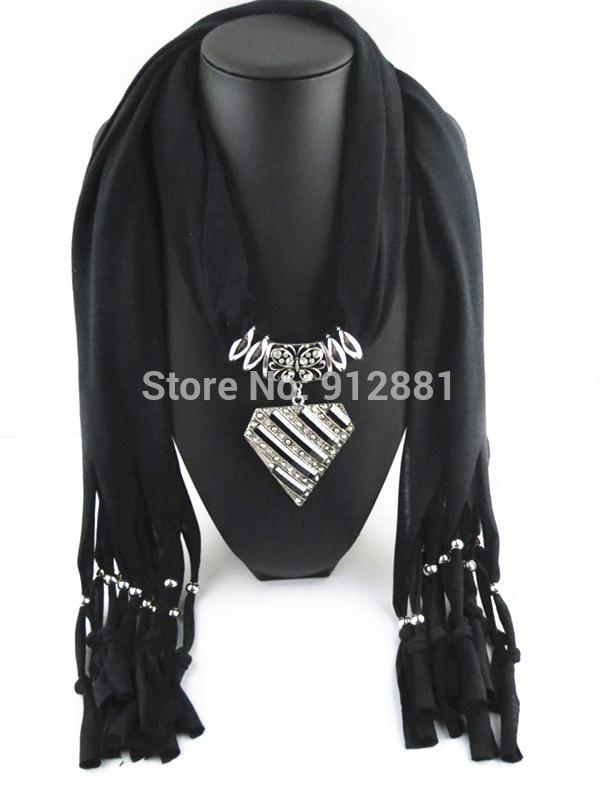 2014 New Geometric splicing fancy pendant scarf Women's fashion leisure accessories Free shipping(China (Mainland))