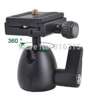 11lbs Heavy Duty Camera Tripod Micro Ball Head Ballhead with Quick Release Plate