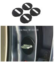 4PCS Door Striker Cover for Mzda 6 MX-5 Hyundai Tucson Mitsubishi Outlander