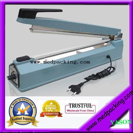 YS-ASF400 hand impulse heat plastic bag sealer /poly bag sealer/large plastic bag sealer(sealing length 400mm)(China (Mainland))