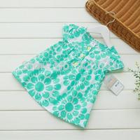2014 Carters New Toddler Girls Dress 2-6yrs Kids Summer Blouse Dress  top Dresses 100% cotton Child Hot sale