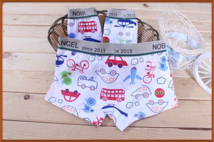 Biancheria intima boxer biancheria intima di cotone per i bambini bag