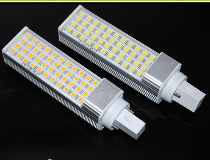 G24 9W LED Corn bulbs light Horizontal Plug 40LED 5050SMD LED lamp(China (Mainland))